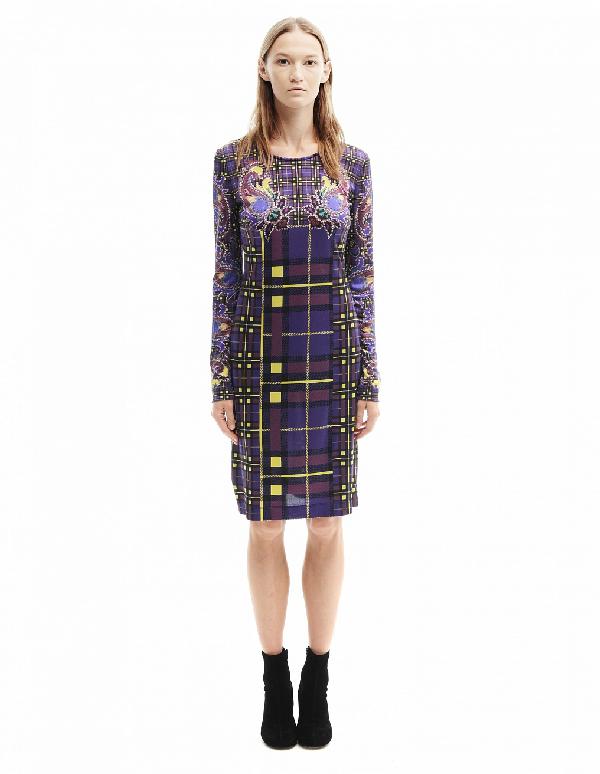 Mary Katrantzou Knee-Length Dress In Purple