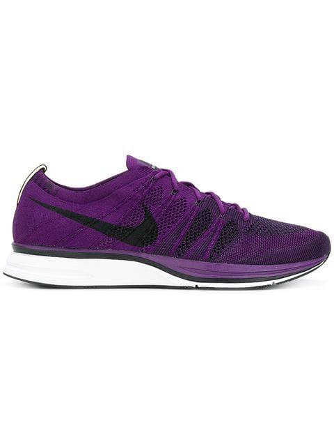 f9512605bea4 Nike Lab Flyknit Trainer Sneaker In Purple