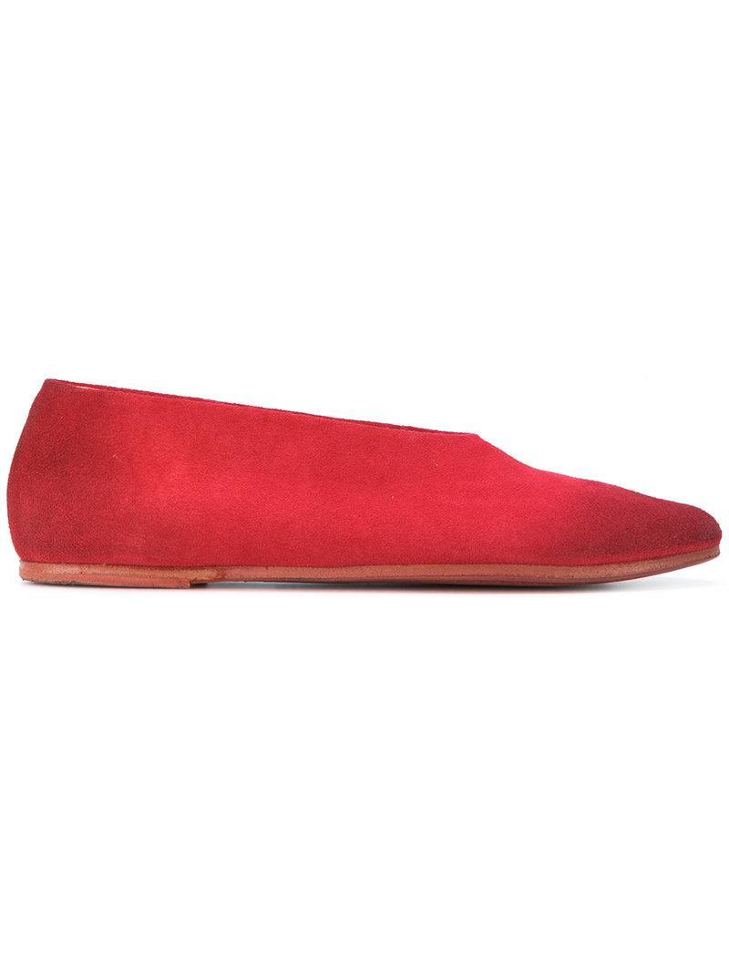 MarsÈLl Coltellaccio Ballerinas In Red