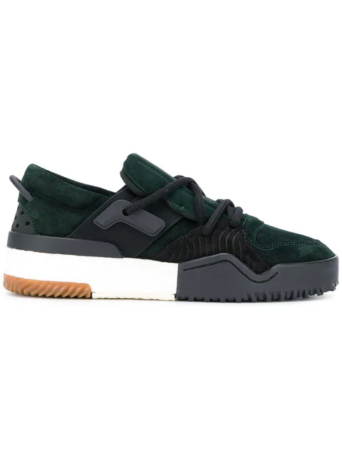 f5fa9922c Adidas Originals By Alexander Wang Green Aw Bball Lo Boost Sneakers ...