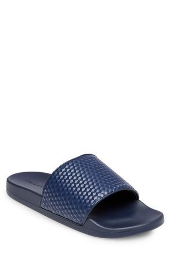 fc68887c577 Steve Madden Riptide Slide Sandal In Navy