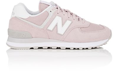 new product a4363 3747b 574 Classic Suede & Mesh Sneakers in Pink