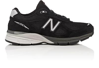 New Balance '990 Premium' Running Shoe In Black