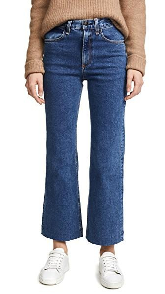 1a1ea6273e584 Rag   Bone Justine High-Rise Cropped Wide-Leg Jeans