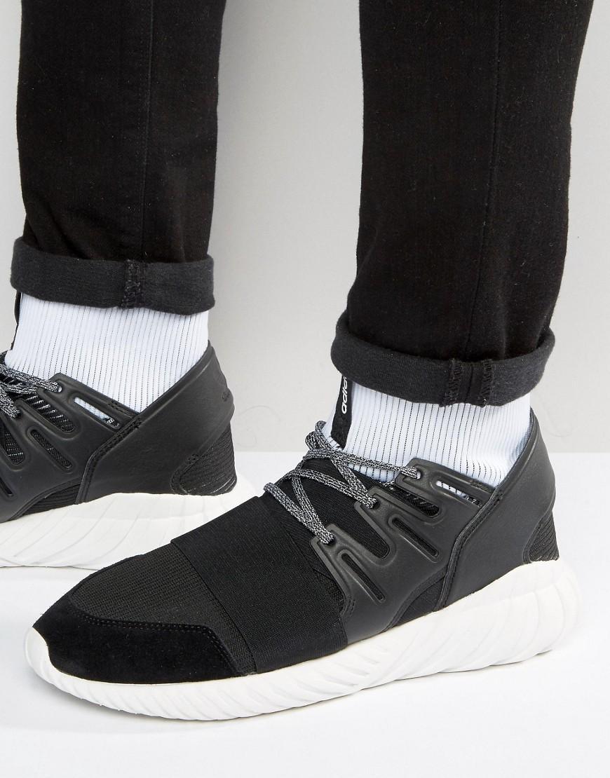 outlet store 3c81c f4ce3 Tubular Doom Sneakers In Black Ba7555 - Black