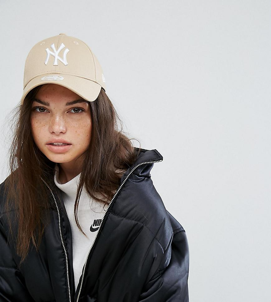 566a3de7e52e0 New Era 9Forty Stone Ny Exclusive Cap - Beige. ASOS