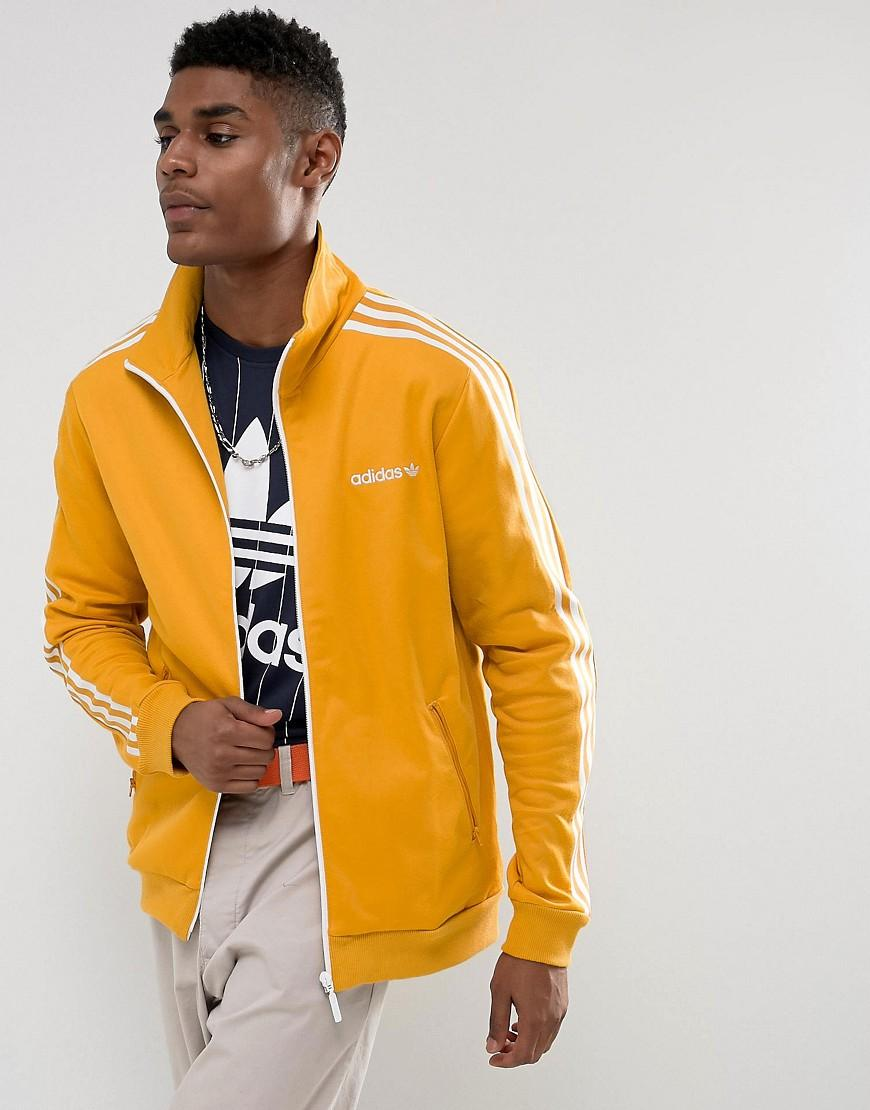 sells wholesale dealer official store Beckenbauer Track Jacket In Yellow Br4326 - Yellow