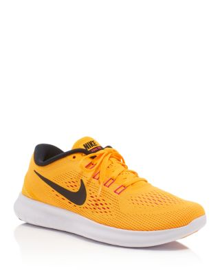 100% authentic 8ff21 ca4d6 Women's Free Rn Running Sneakers From Finish Line in Laser Orange