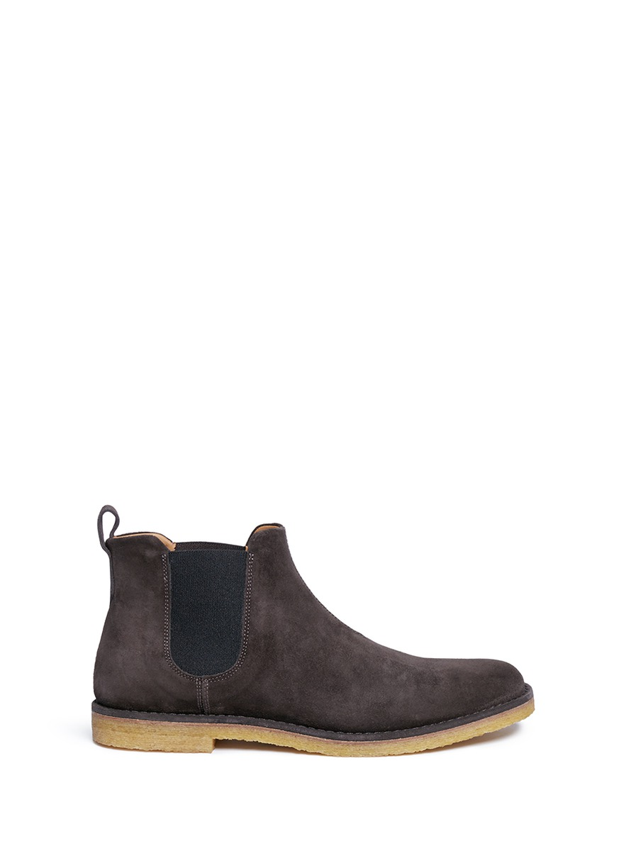 Vince 'Sawyer' Suede Chelsea Boots In Coastal Suede