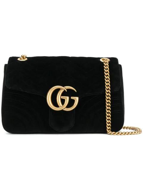 Gucci Gg Marmont 2.0 Medium Quilted Shoulder Bag, <Font><Font>Black</Font></Font> In 1000