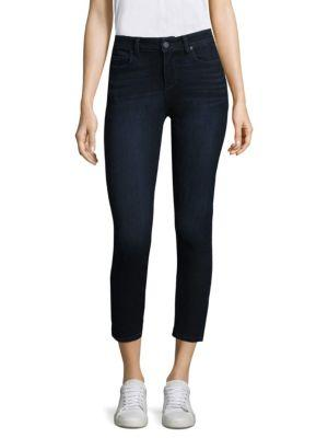Paige Verdugocrop Skinny Jeans In Surge