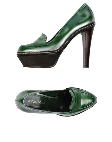 Sergio Rossi Moccasins In Green