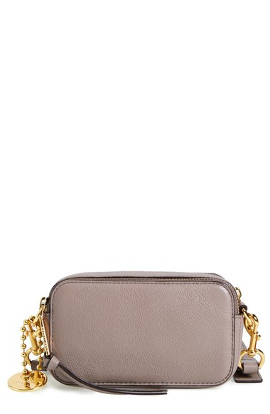 4e78dfabdb65 Marc Jacobs  Recruit  Pebbled Leather Crossbody Bag In Mink