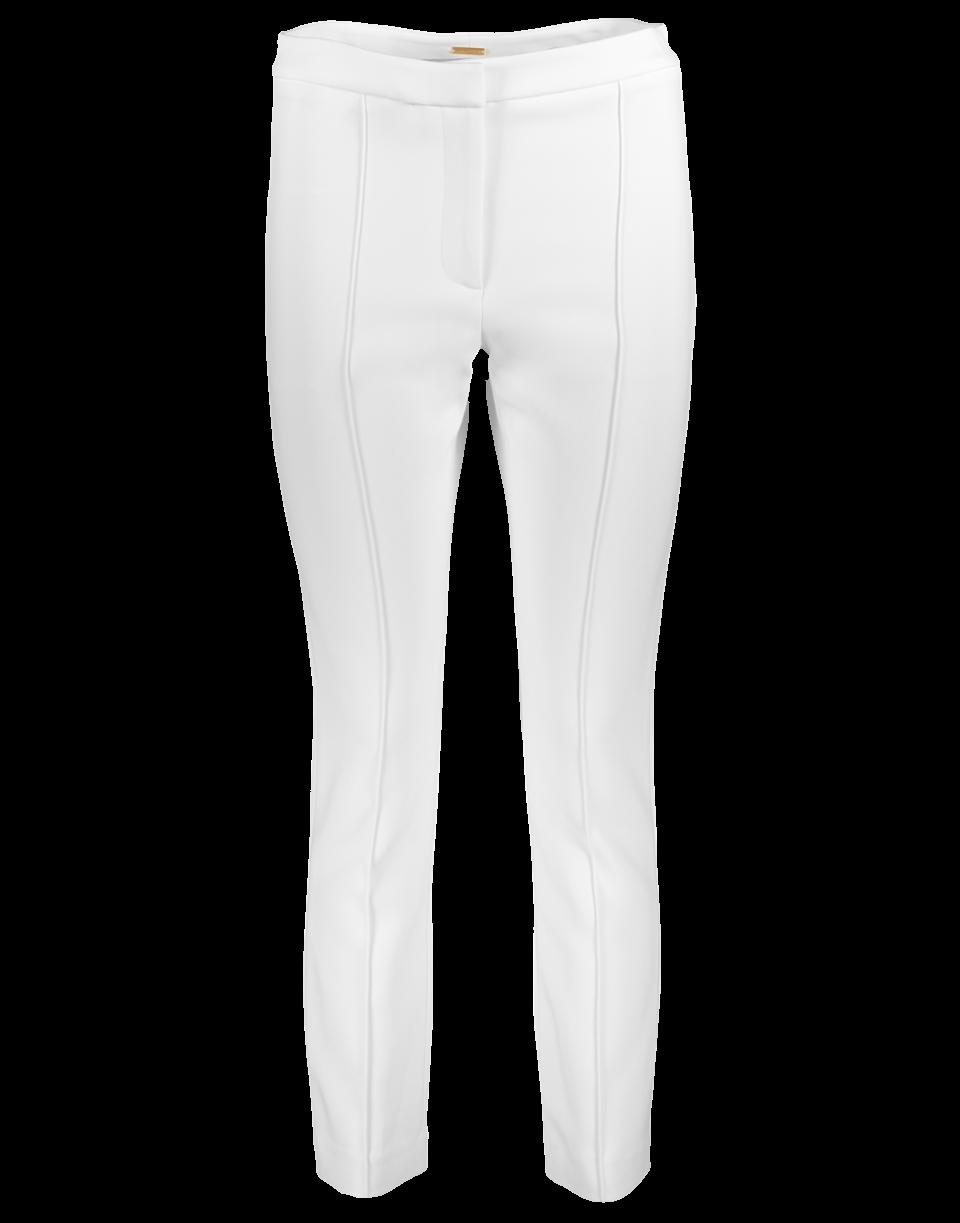 Adam Lippes Skinny Pant In Ivory