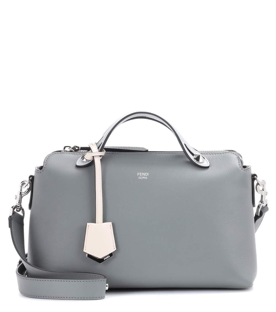 695bc399f Fendi By The Way Small Leather Shoulder Bag In Grey | ModeSens