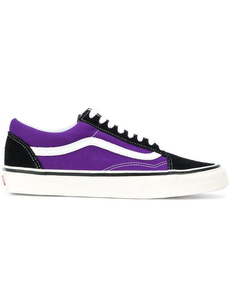 0a51b365c4a2cd Vans Anaheim Factory Old Skool 36 Dx In Black Bright Purple