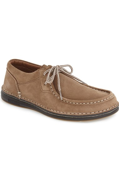 e93fba01bb4 'Pasadena' Lace-Up Moccasin (Men) in Taupe