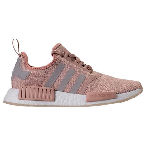 b8a3f1b86bffe Adidas Originals Adidas Women s Nmd R1 Casual Sneakers From Finish Line In  Ash Pearl Chalk