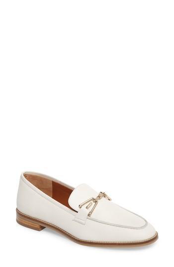 9f0cf16e32e Aquatalia Teodora Weatherproof Loafer In Off White