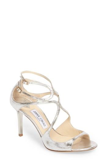 4a50006987d Jimmy Choo Women S Ivette 85 Strappy High-Heel Sandals In Neutral ...