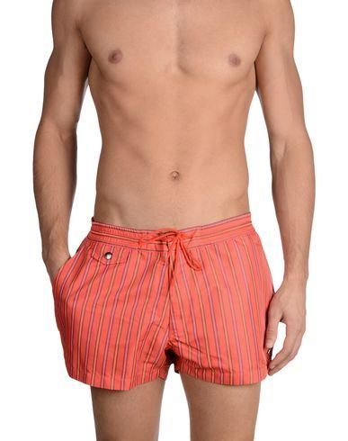 Marc By Marc Jacobs Swim Trunks In Red