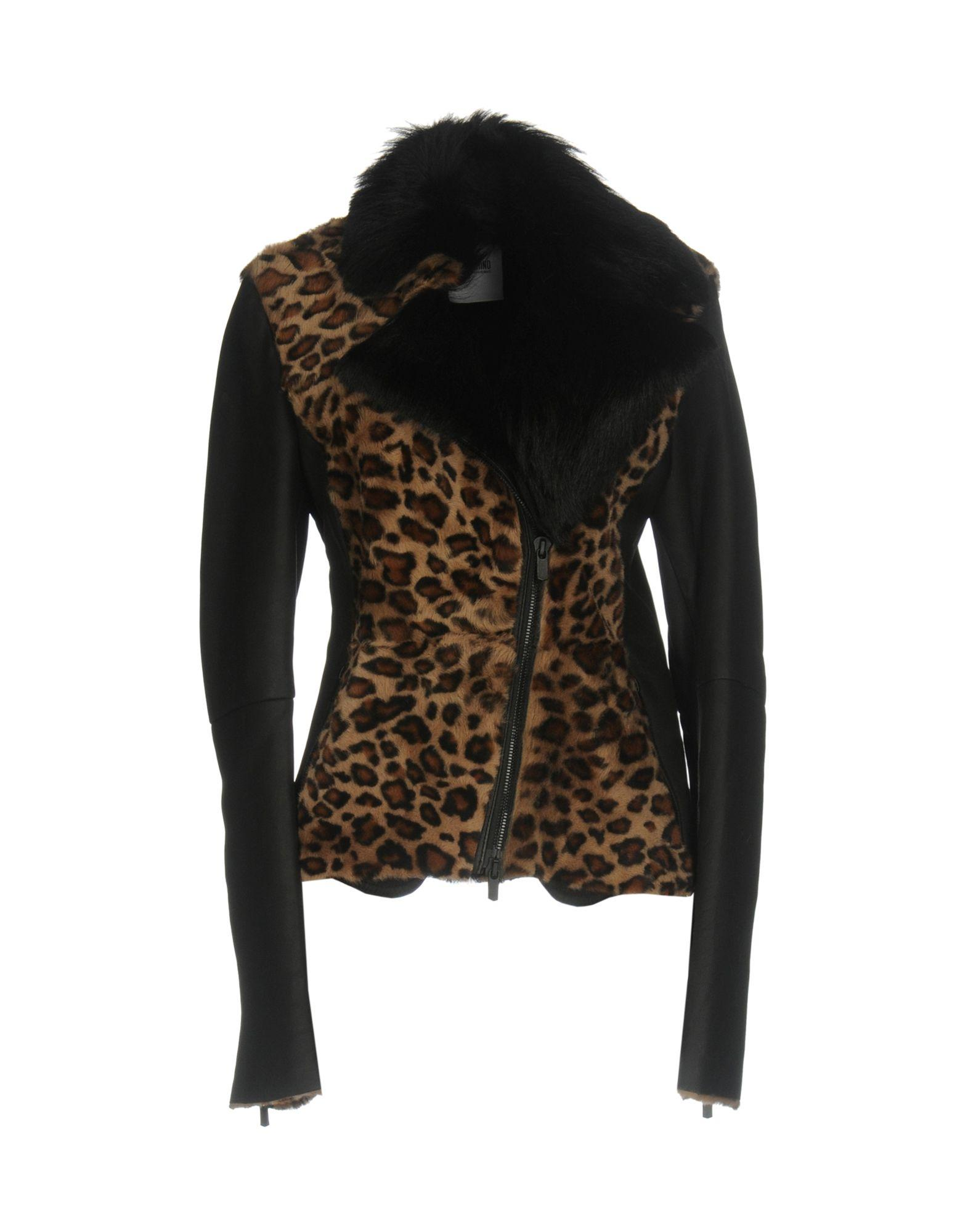 Moschino Cheap And Chic Biker Jacket In Black