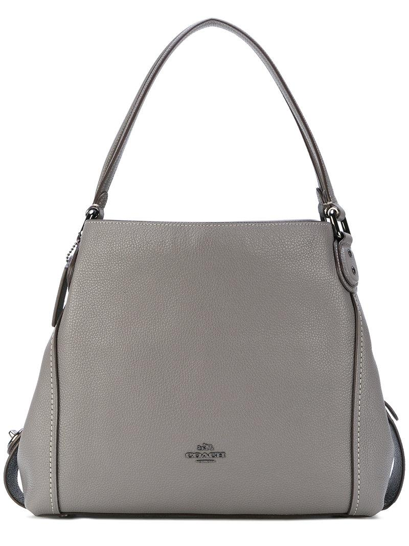 f592ae6677719 Coach Edie 31 Shoulder Bag - Grey | ModeSens
