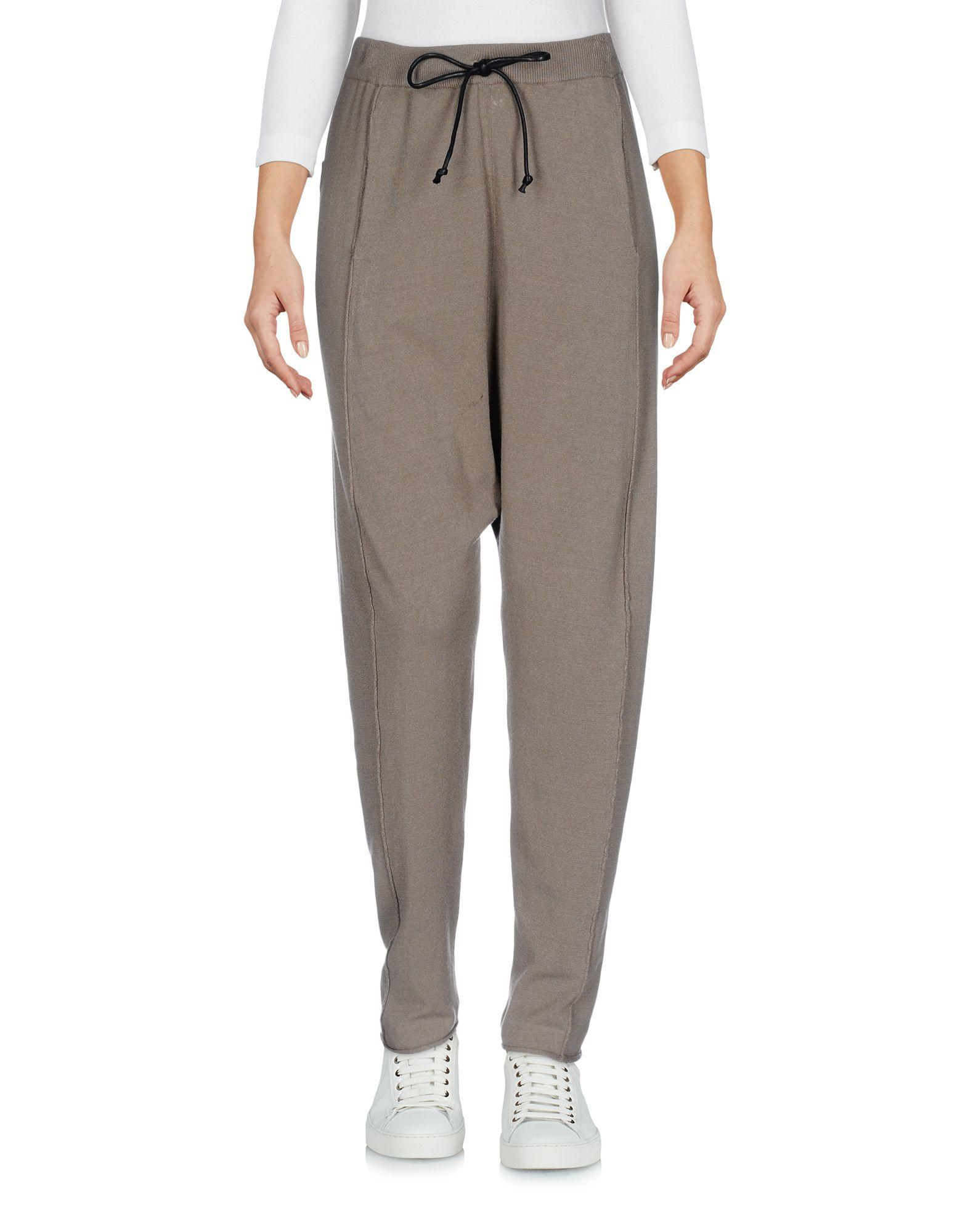 Isabel Benenato Cropped Pants & Culottes In Khaki