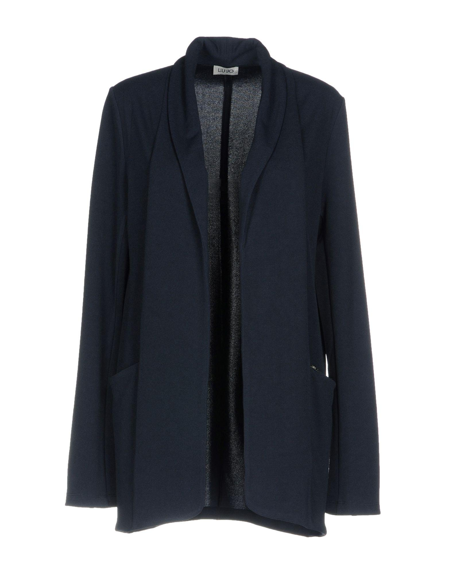 Liu •jo Cardigan In Dark Blue