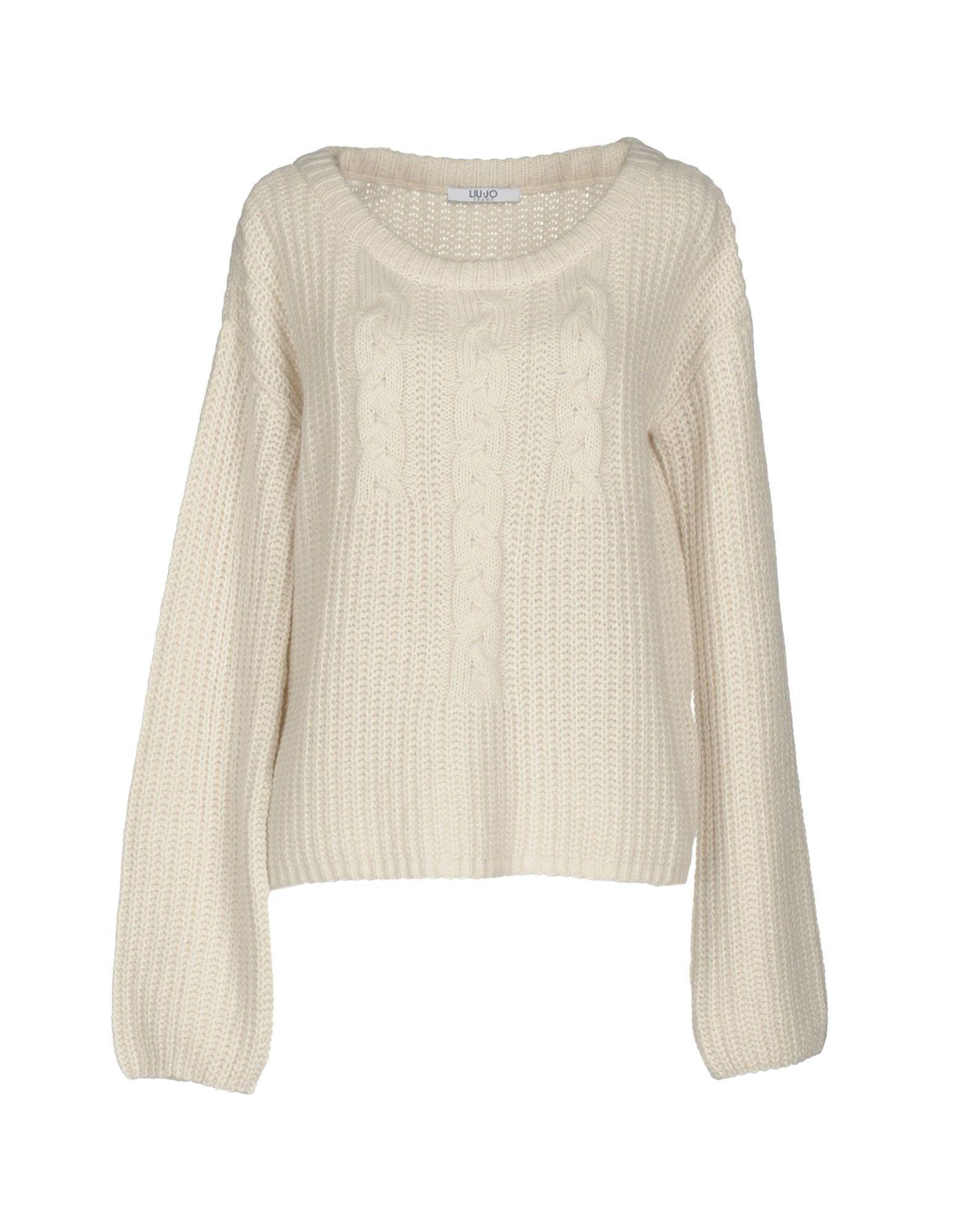 Liu •jo Sweater In Ivory