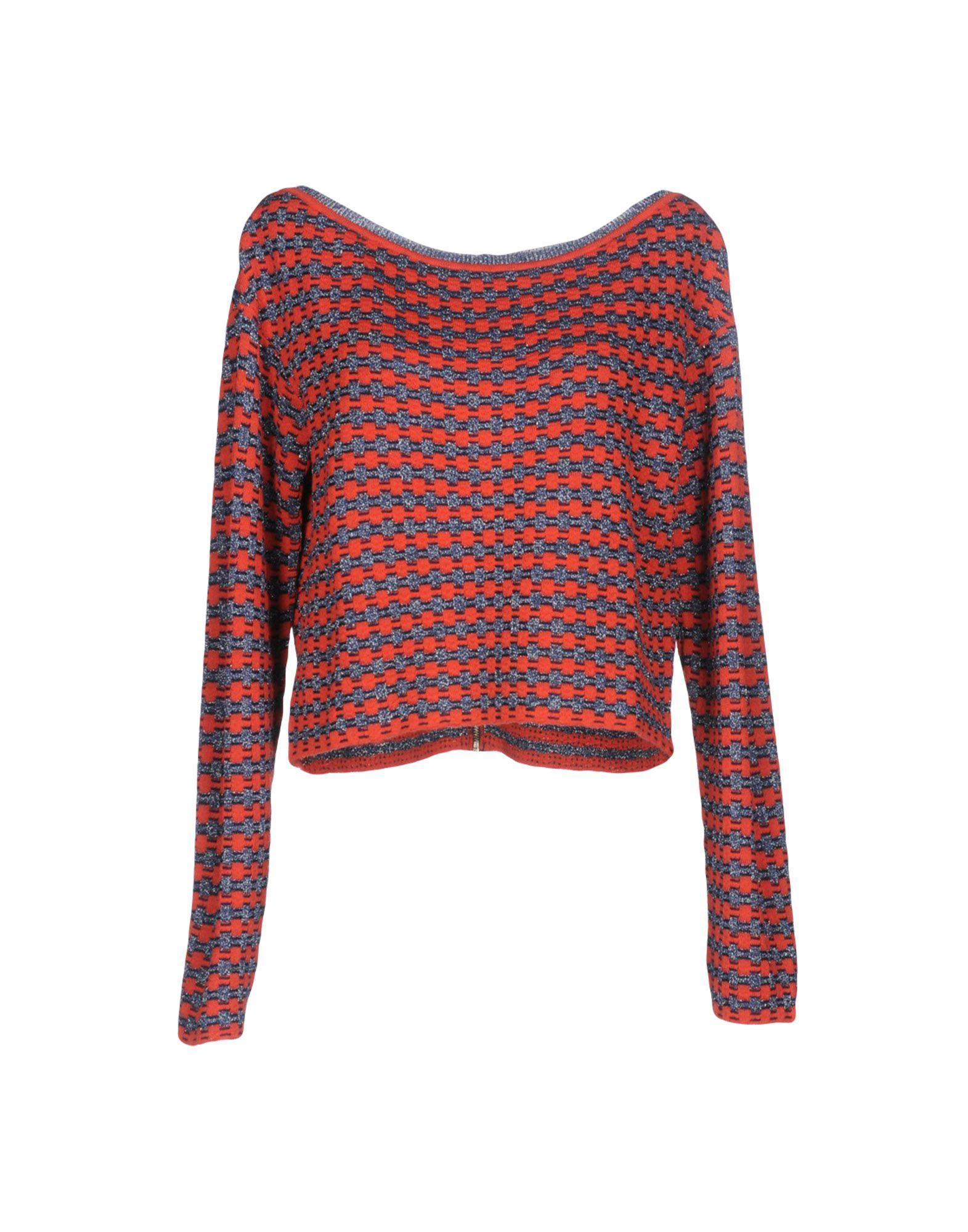 Liu •jo Sweater In Coral