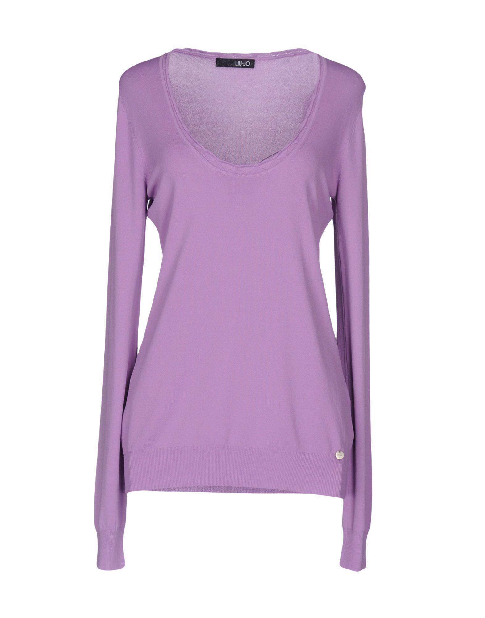 Liu •jo Sweater In Light Purple