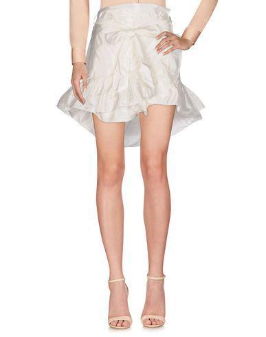 Isabel Marant Knee Length Skirt In Ivory