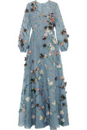 Valentino Formal Dress In Sky Blue