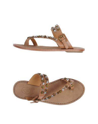 Ash Flip Flops In Camel