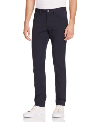 Theory Neoteric Five Pocket Slim Fit Pants In Black