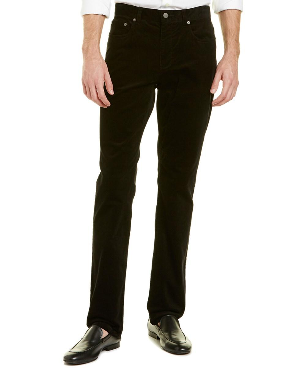 Vince 718 Slim And Tapered Pant In Black