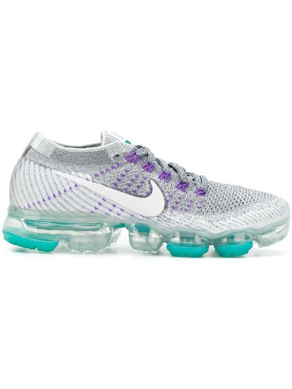big sale d1f65 b740c Women's Air Vapormax Flyknit Running Shoes, Grey in Lilac