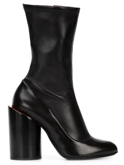 Sculpted Heel Boots