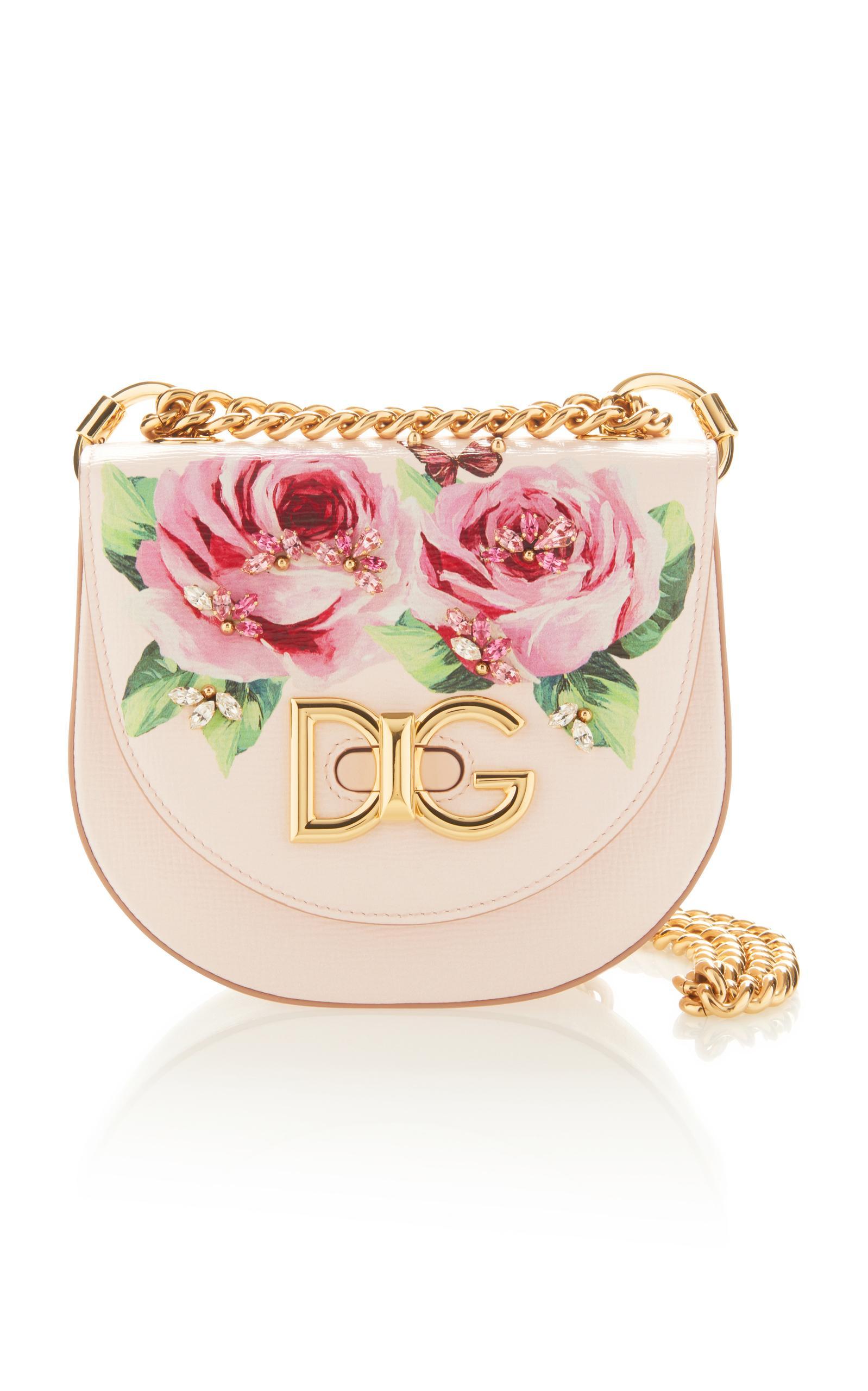 Dolce   Gabbana Dolce E Gabbana Women s Pink Leather Shoulder Bag ... fe362ccaa7c9a