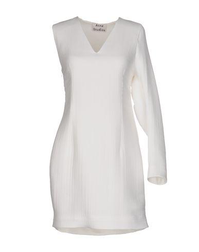 Acne Studios Short Dress In White