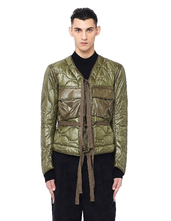 The Soloist Quilted Khaki Jacket