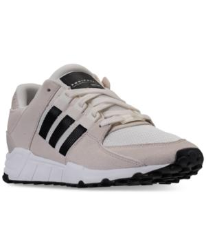 newest 4ce92 92deb Adidas Men's Eqt Support Rf Casual Sneakers From Finish Line in Off  Wht/Core Black/Clear