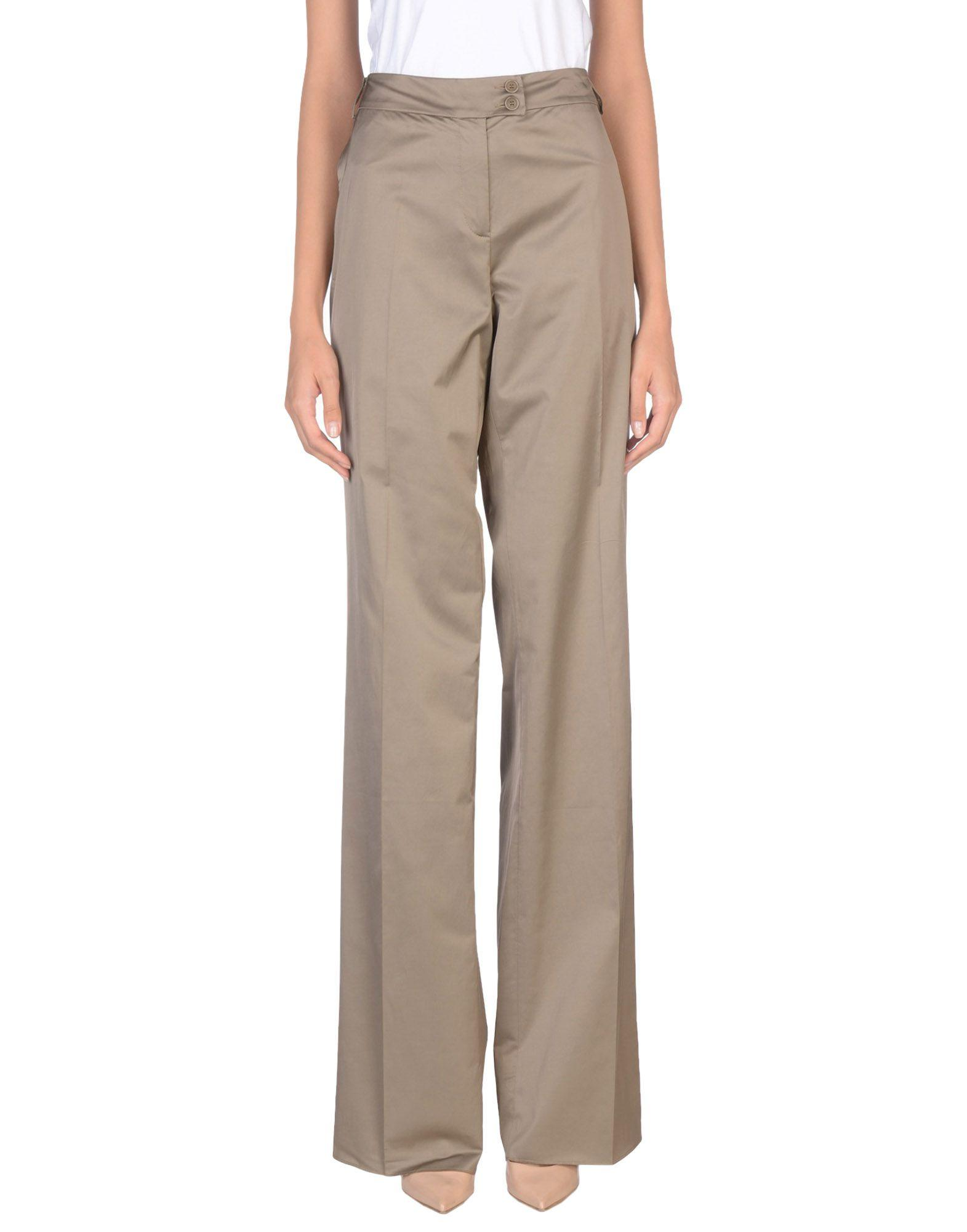 Etro Casual Pants In Khaki