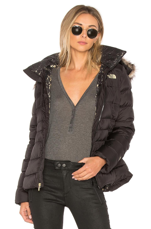 16e3fc8f7 Gotham Jacket Ii With Faux Fur Trim in Black