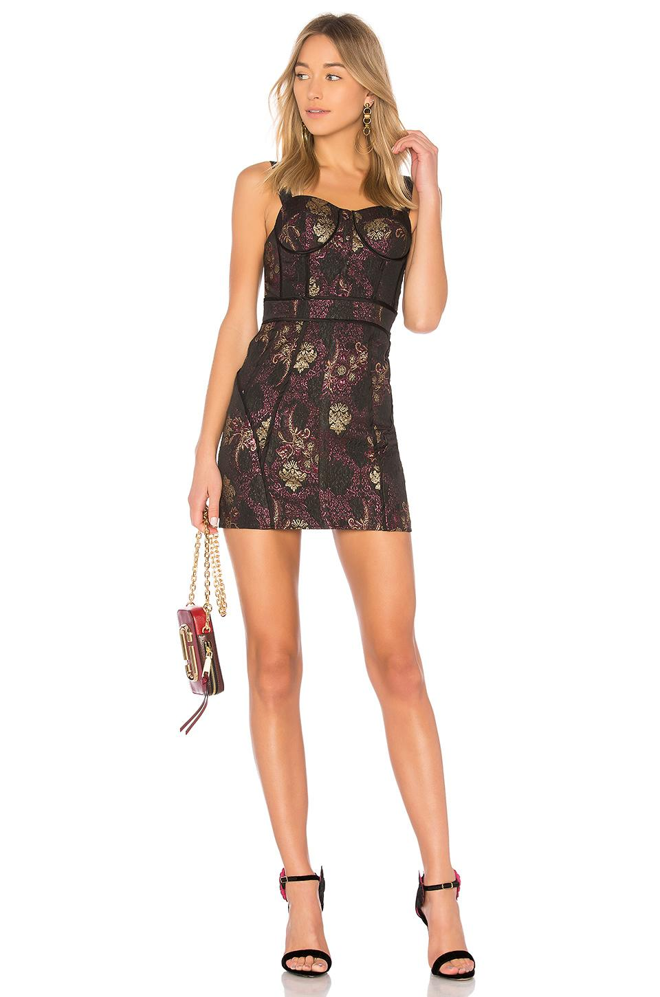 8788975e59c Lpa Dress 447 In Black. In Red Blend