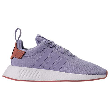 Adidas Women's Nmd R2 Casual Sneakers From Finish Line in Blue