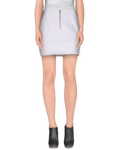 Alexander Wang T Mini Skirt In White