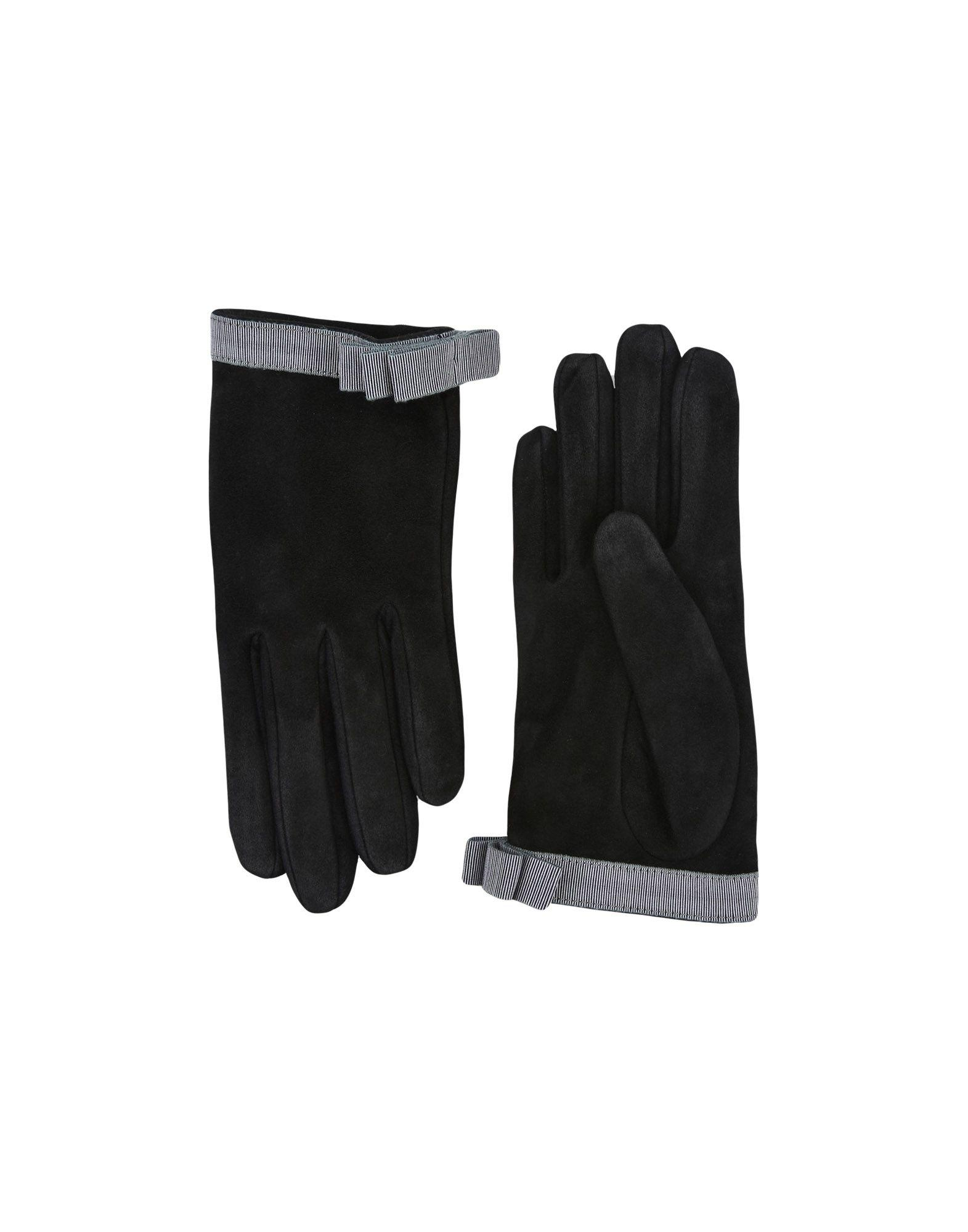 Emporio Armani Gloves In Black
