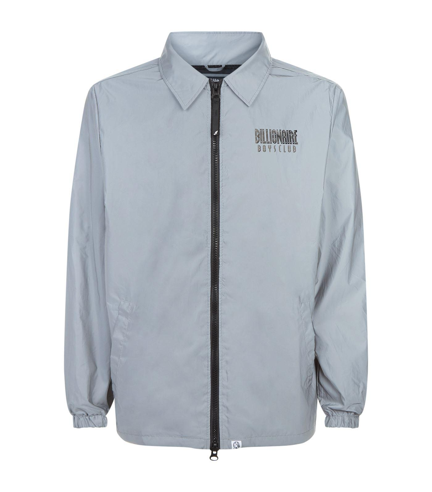943ed13ce Billionaire Boys Club Reflective Coach Jacket In Silver | ModeSens